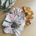 Scrunchies Set of 3- Wattle, Spots, Birds