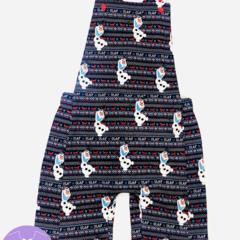 Boy / Girl Olaf Overalls Shortalls - FREE SHIPPING!