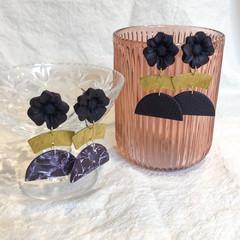 SALE Dark Purple Dangles