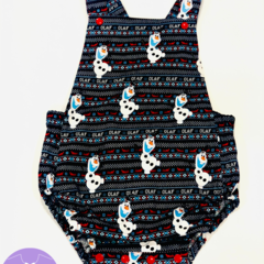 Baby Olaf Romper Overalls - FREE SHIPPING!