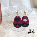 Mama Studs in Red and Black SALE