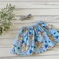 Bluey Skirt, Size 0 1 2 3 or 4, Girls Skirts