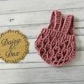 Crochet Elodie Romper, Size 0-3m Baby Girls Playsuit