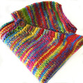 Stained Glass knit over-tee - size 18-24 mths