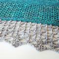 Atlantic Lace beaded shawl