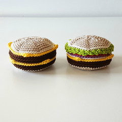 Burger Hacky Sacks