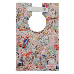 Little Creatures on Pink Large Style Bib