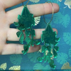 Plant Lady Mirror Dangle  (Various Styles)