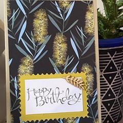 Birthday Handmade Card  - Australia Fauna