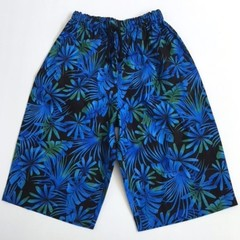 Sizes 4  - Blue Palms Shorts