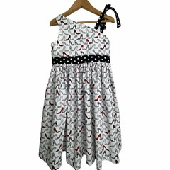 SIZE 4 Girls One Shoulder IVANA Dress - SHOES