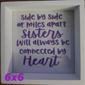 """Frames with Personalised Quotes 6x6"""""""