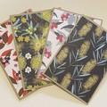 4 Australian Flora Handmade Card pack - FREE POST