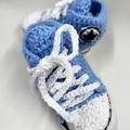 Crochet booties 3-6 months
