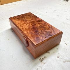 Jewellery | Keepsake | Valet | Wood Box In Blue Gum