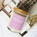 Friendship Gift: Pure Soy Candle - select your own fragrance