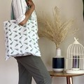 Cactus Tote Bag (Fully Lined)
