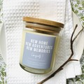 Housewarming Gift: Soy Candle - Select your own fragrance