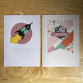 Birthday Card 2pk