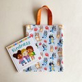 Bluey and Bingo Tote bags / Library Bag (Fully Lined)