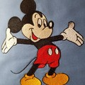 """""""Welcome Mouse"""" Reading/Pocket Cushion Cover"""