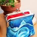 Jaws coin purse. Shark week gift idea.