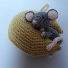 Crochet Baby Mobile, nursery, decor, baby, gift, baby shower