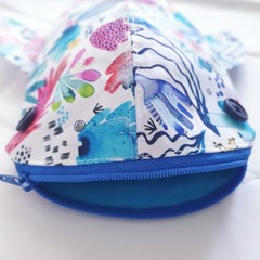 Whale Shark pencil case - Coral Reef