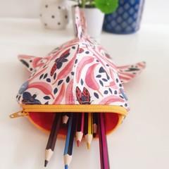 Whale Shark pencil case - Australiana