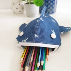 Whale Shark pencil case - Lobsters