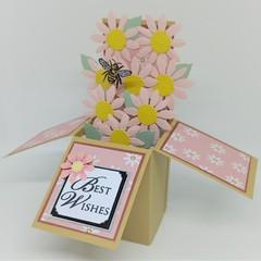 Regular sized Box of Flowers Card