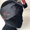 Floral Boho Wire Headband, Wire Headscarf, Twist Headband
