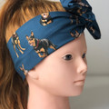 Kelpie Dog Women's Wire Headband/Headwrap Perfect Mothers Day Birthday Gift