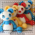 Soft Wool Toy Bear