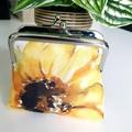 Sunflower coin purse