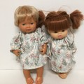 Miniland and Minikane  and Kmart Twin dolls Dolls Nightie to fit 38cm Dolls