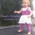 Frilly Toddler Dress