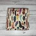 Minky Blanket - Feathers