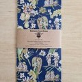 May Gibbs Beeswax Wrap - Gossiping Gumnut Dark Blue