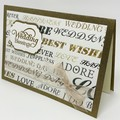 "Wedding Card - ""Wedding Blessings"""