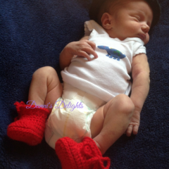 Easy Peasy Baby Booties