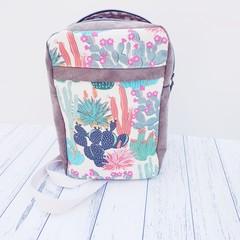 Cactus Sling Bag, travel backpack, carry on bag