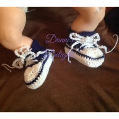 Newborn Sneaker Booties