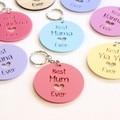Keyring For Her, Personalised, Mother's Day, Birthday, Mum, Nanny, Nanna