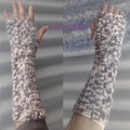 Butterfly armwarmers (acrylic)