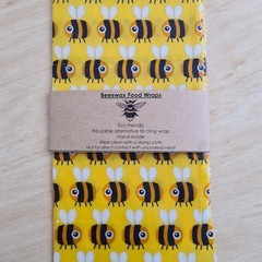Beeswax Wrap - Bees