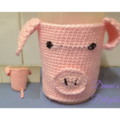 Crochet Animal Cup Cosy (Large)