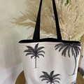 Palms Tote Bag (Fully Lined)