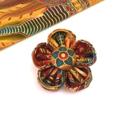 Handmade Fabric Flower Brooch for Women / Gift for Mum