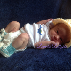 Cowboy beanie (Newborn)